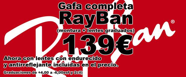 RayBan a 139€