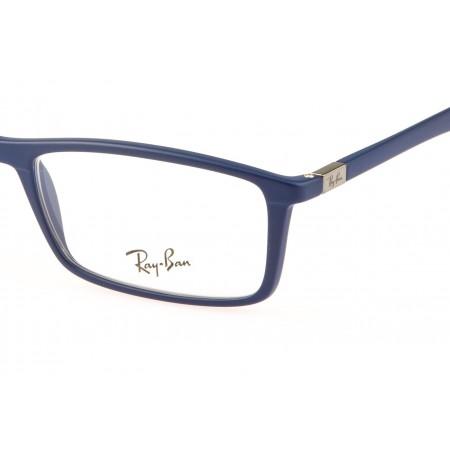 9e3fb57edc8 New RAY-BAN Eyeglasses RB 7048 5206 56-17 145 Black ... - eBay