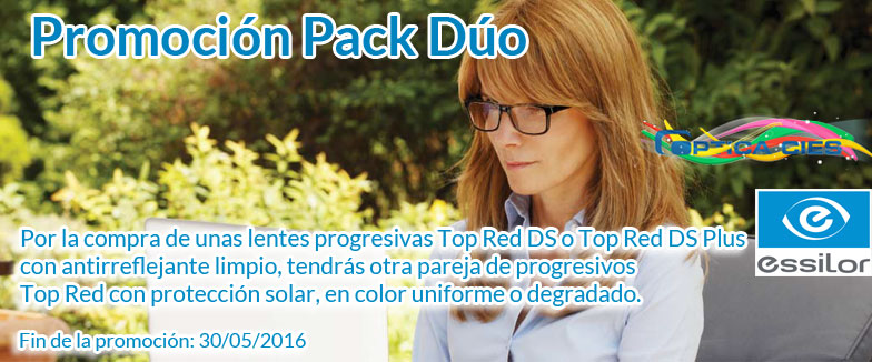 Pack Duo Top Red Óptica Cíes