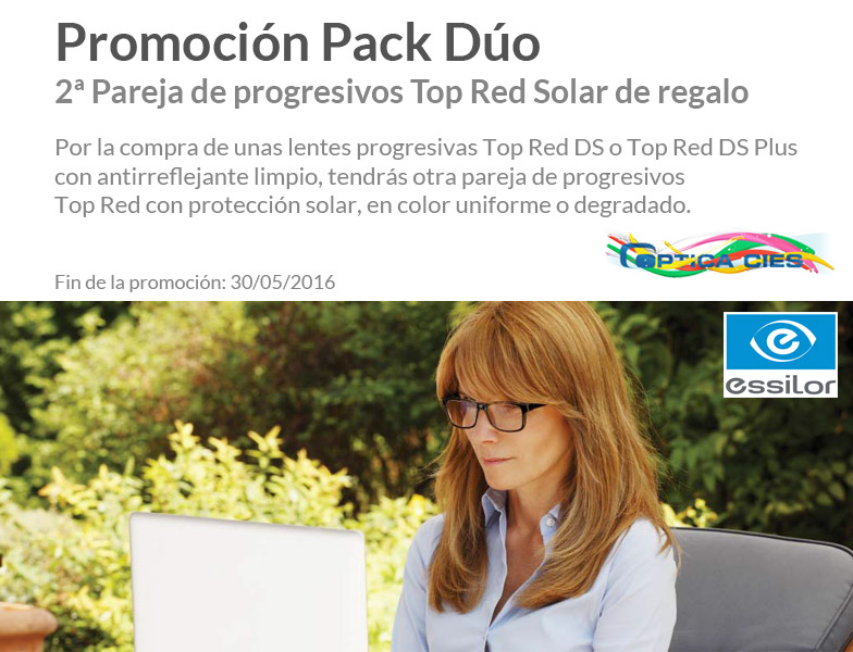 slide Pack Duo Top Red