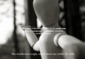 Antonio Miró en Óptica Cíes