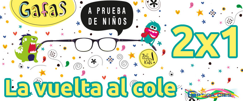 Be Happy Kids 2x1 vuelta al cole