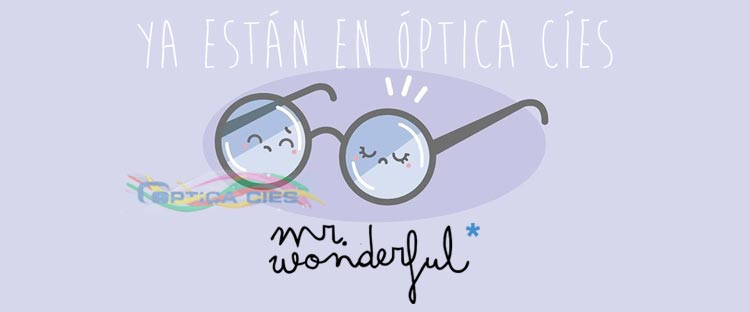 Gafas Mr Wonderful en Óptica Cíes