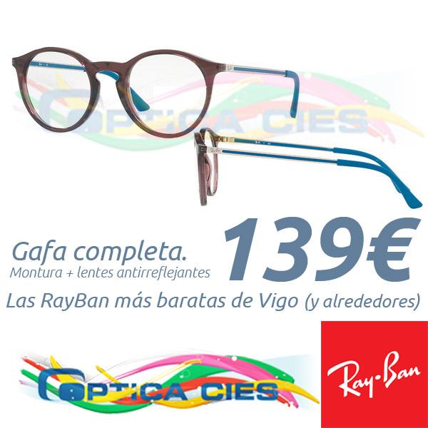 RayBan 7132 5720 en Óptica Cíes por 139€ (Gafa Completa)