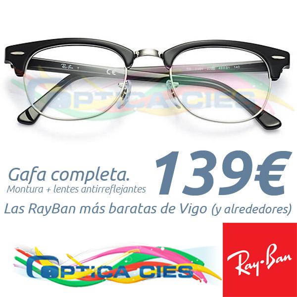 RayBan RB5154 2000 en Óptica Cíes por 139€ (Gafa Completa)