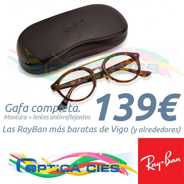 RayBan RB5354 5675 en Óptica Cíes por 139€ (Gafa Completa)