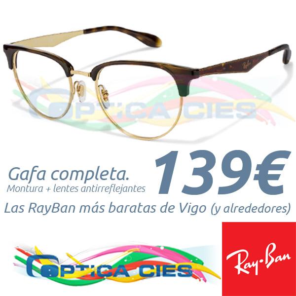 RayBan RB6396 2933 en Óptica Cíes por 139€ (Gafa Completa)