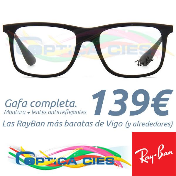 RayBan RB7054 5364 en Óptica Cíes por 139€ (Gafa Completa)