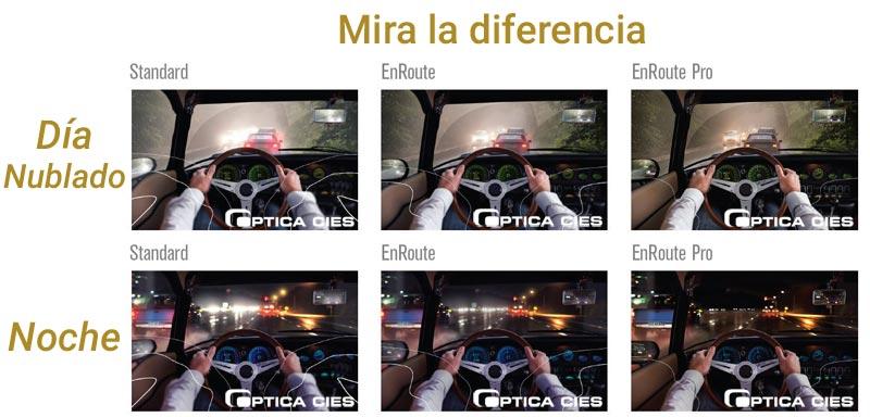 EnRoute en Óptica Cíes, mira la diferencia