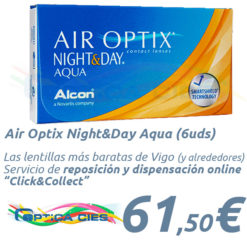 A001006 AirOptix Night and Day Aqua en Óptica Cíes Online