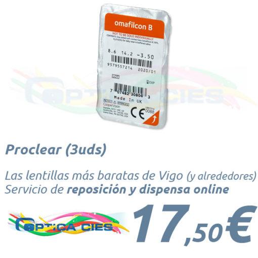 Proclear en Optica Cies Vigo