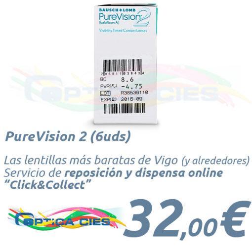 PureVision 2 en Óptica Cíes Vigo