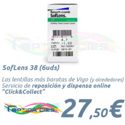 SofLens 38 en Óptica Cíes en Vigo