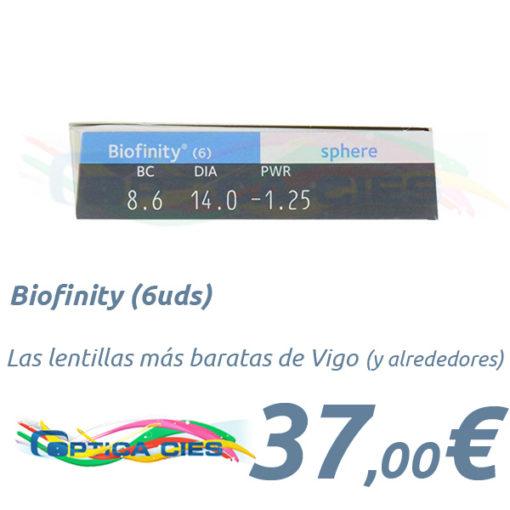 Biofinity en Óptica Cíes Vigo