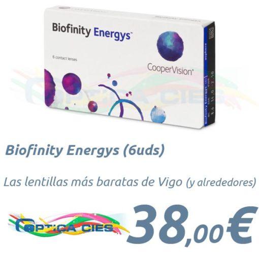 Biofinity Energys en Óptica Cíes, Vigo