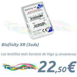 Biofinity XR en Óptica Cíes, Vigo