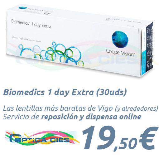 Biomedics 1 day Extra en Óptica Cíes Vigo