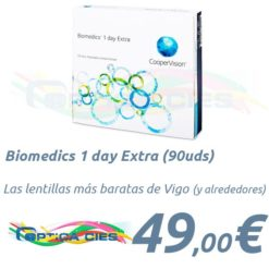 Biomedics 1 day Extra 90 en Optica Cies, Vigo