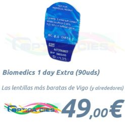 Biomedics 1 day Extra 90 en Optica Cies, Vigo
