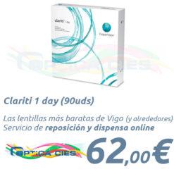 Clariti 1 day en Óptica Cíes Vigo