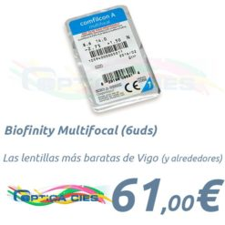 Biofinity Multifocal en Óptica Cíes Vigo