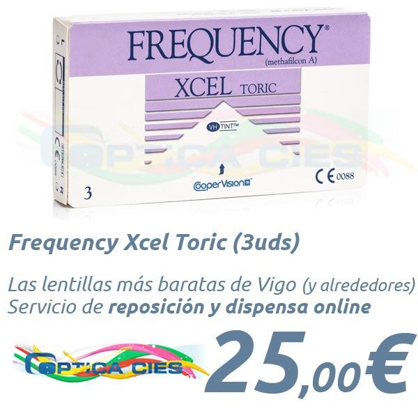 f17e86308b0c4 Frequency Xcel Toric (3uds) - en Óptica Cíes Tus lentes de contacto ...