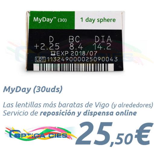 MyDay en Óptica Cíes Vigo