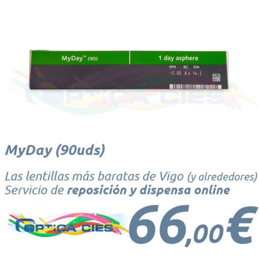 MyDay 90 en Óptica Cíes Vigo