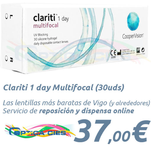 Clariti 1 day Multifocal Optica Cies Vigo