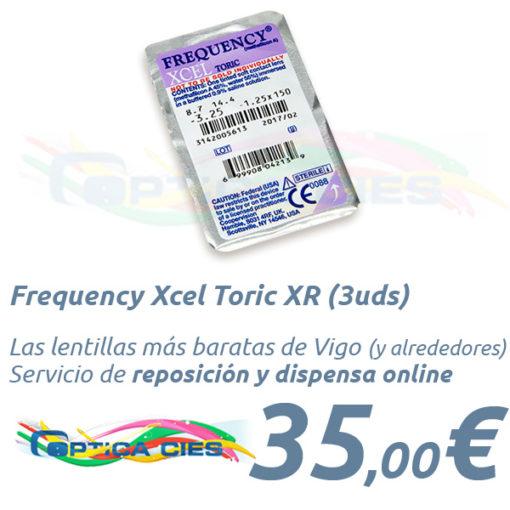 Frequency Xcel Toric XR en Optica Cies Vigo