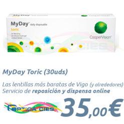 MyDay Toric 30 en Óptica Cíes Vigo