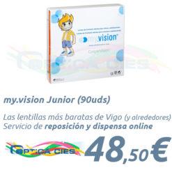 my.vision Junior en Óptica Cíes Vigo