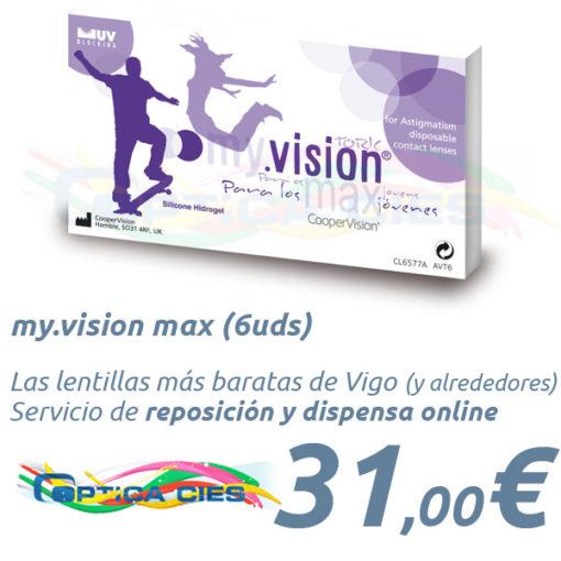 my.vision max en Óptica Cíes Vigo