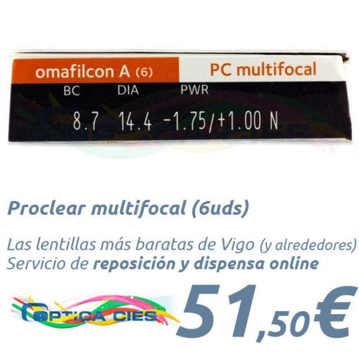 Proclear multifocal en Optica Cies Vigo