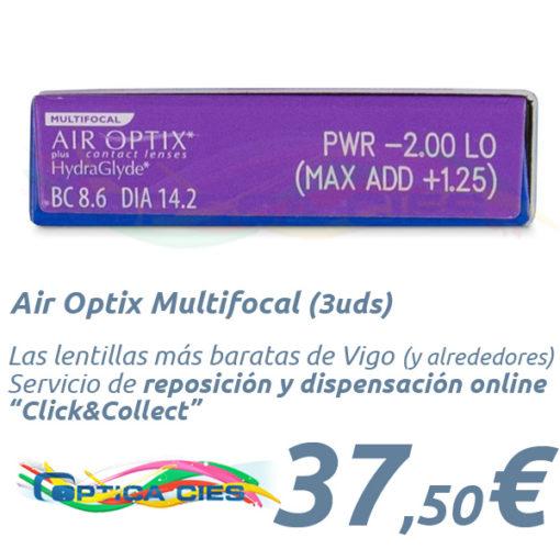 Air Optix Multifocal en Optica Cies Online - Vigo