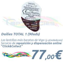Lentillas Dailies TOTAL 1 en Óptica Cíes Online - Vigo