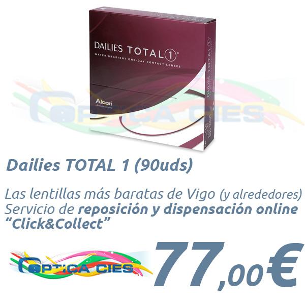 a71d470392703 Lentillas Dailies TOTAL 1 en Óptica Cíes Online - Vigo