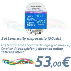 SofLens daily disposable en Óptica Cíes Online