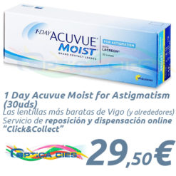 1 Day Acuvue Moist for Astigmatism 30 en Óptica Cíes Online