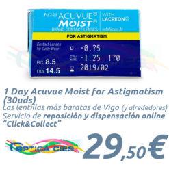 1 Day Acuvue Moist for Astigmatism 30 en Óptica Cíes Online