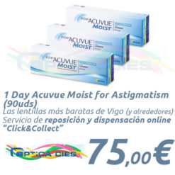 1 Day Acuvue Moist for Astigmatism 90 en Óptica Cíes Online