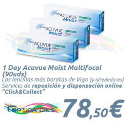 1 Day Acuvue Moist Multifocal 90 en Óptica Cíes Online