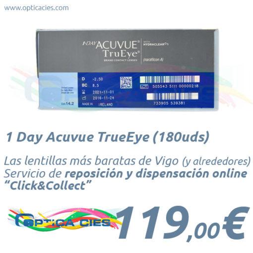 1 Day Acuvue TrueEye 180 en Óptica Cíes Online