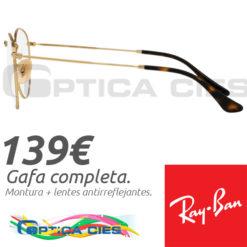 RayBan RB3447V 2500 en Óptica Cíes