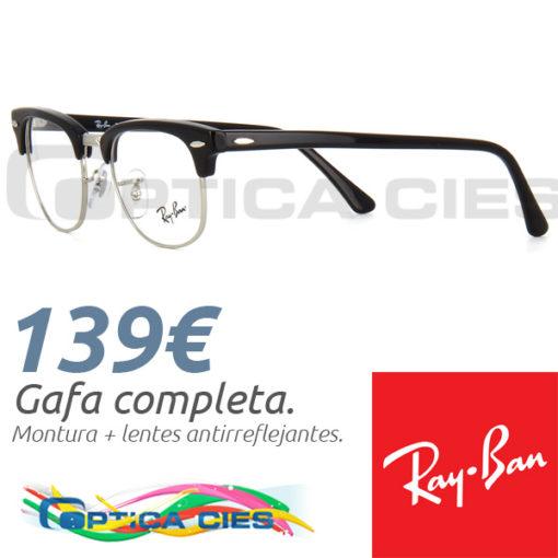 RayBan RB5154 Clubmaster 2000 en Óptica Cíes, Vigo