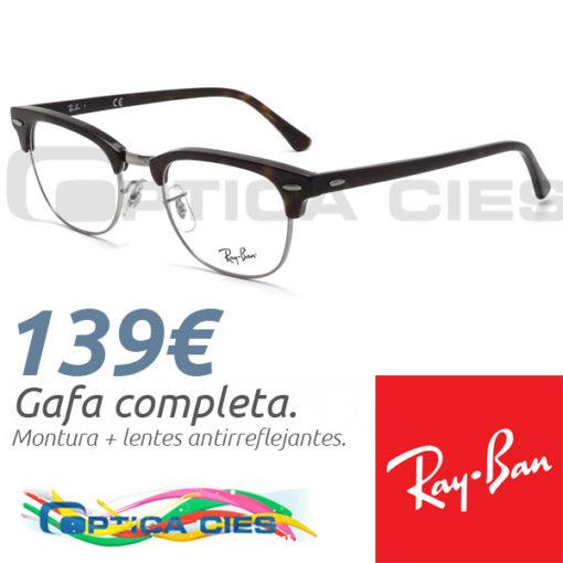 RayBan RB5154 Clubmaster 2012 en Óptica Cíes, Vigo