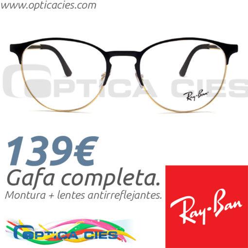 Gafa RayBan RB6375 2890 en Óptica Cíes Online