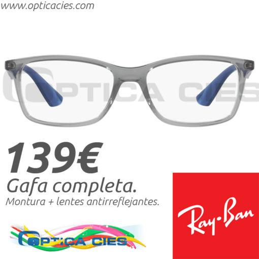 RayBan RB7047 5769 en Óptica Cíes Vigo